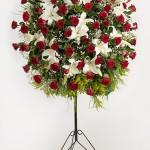 Görkemli Tören Ferforje Çiçek Aranjmanı
